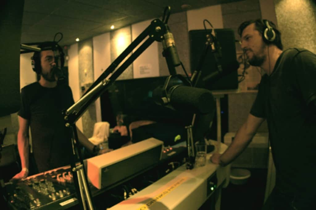 Manoah interviewing Solomun in Voidd Radio